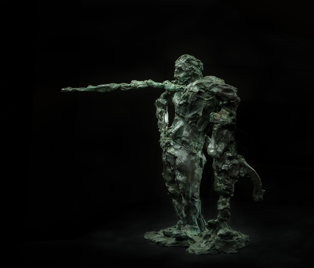Alexandre Sviyazov, 'The man leaned against the water column', 2012, galerie bruno massa