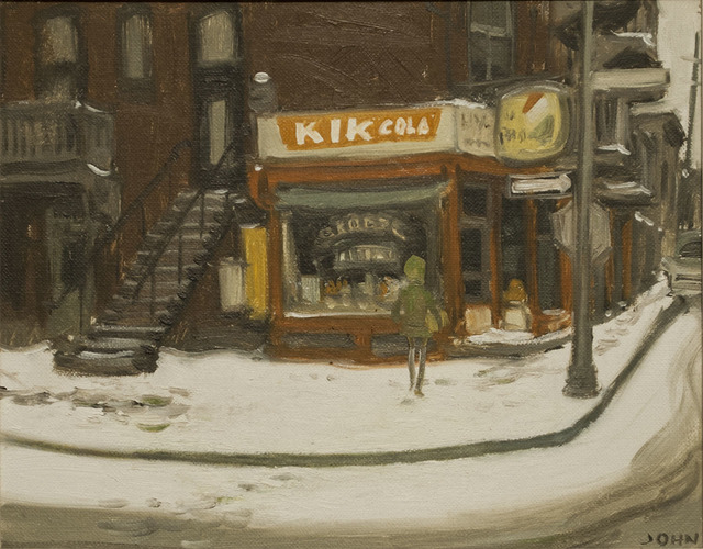 , 'Grocery Store,' 1969, Canadian Fine Arts