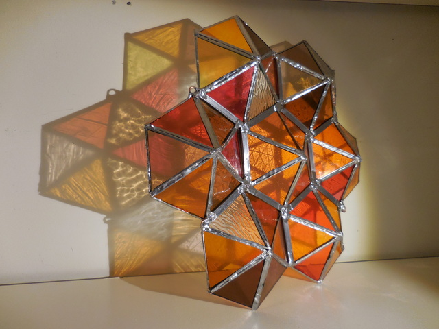 , 'Orange Prism,' 2018, Philadelphia's Magic Gardens