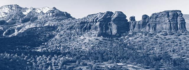 , '  Blue Parrot Canyon,' 2013, Tiziana Di Caro