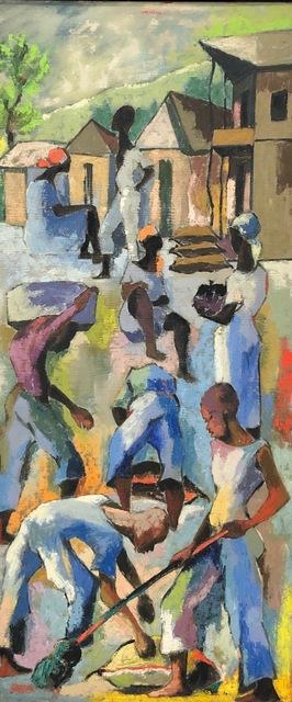 Dieudonne Cedor, 'Untitled (Haitian Workers) ', 1960, ZQ Art Gallery