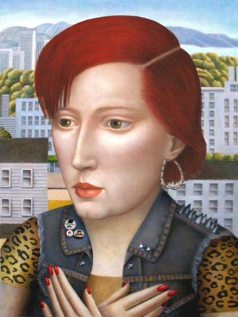 , 'Woman in Denim Vest,' , Front Room Gallery