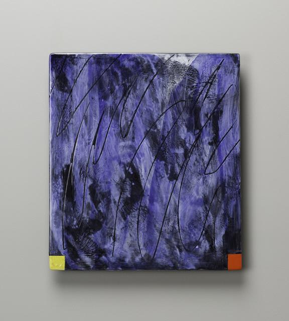 , 'Small Raku Wall Slab 16-05-39,' 2016, Duane Reed Gallery