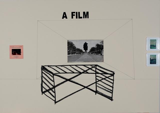 , 'A Film projection,' 2018, Galerie Ernst Hilger