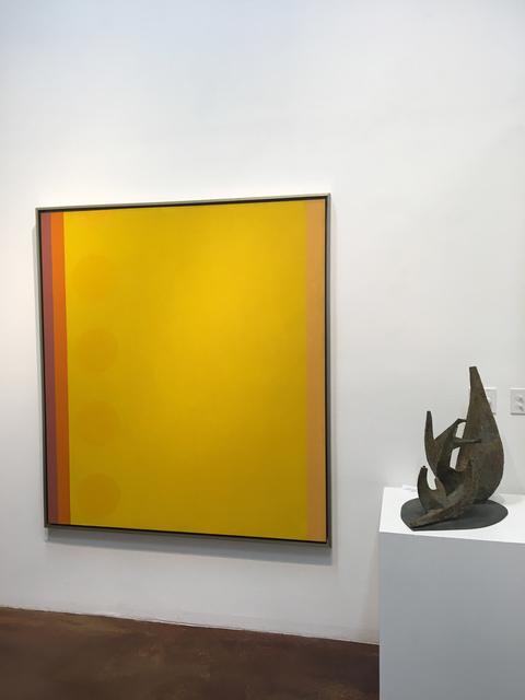 Oli Sihvonen, 'Film Series Yellow', 1972, Painting, Acrylic on canvas, 203 Fine Art
