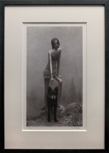 Aron Wiesenfeld, 'Girl with Dog', 2019, ARCADIA CONTEMPORARY