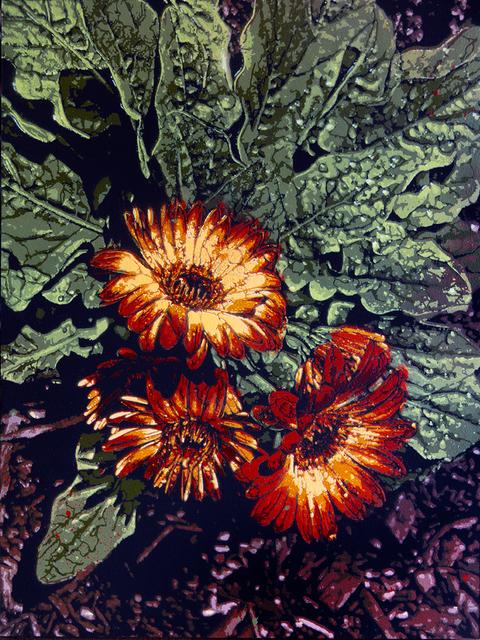 Logan Hicks, 'Monet Flower Closeup - Moms Garden ', 2019, Taglialatella Galleries