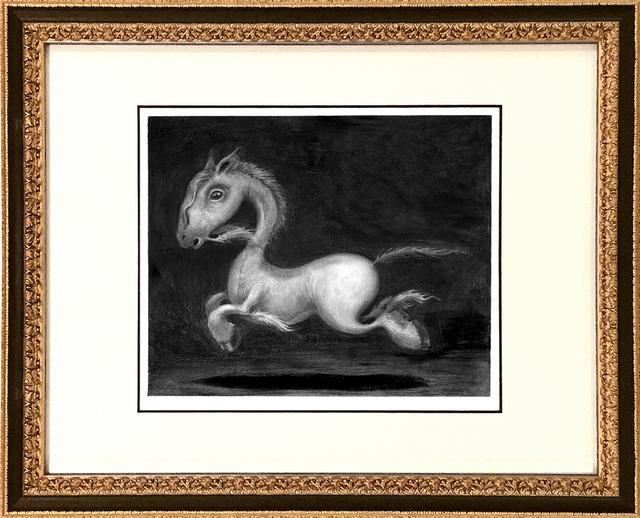 , 'Brobdingnagian Bronco,' , Spoke Art