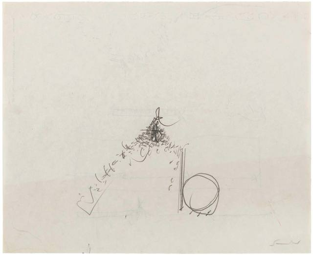 Emilio Scanavino, 'Untitled', 1967, Drawing, Collage or other Work on Paper, Graphite on Japon paper, ArtRite
