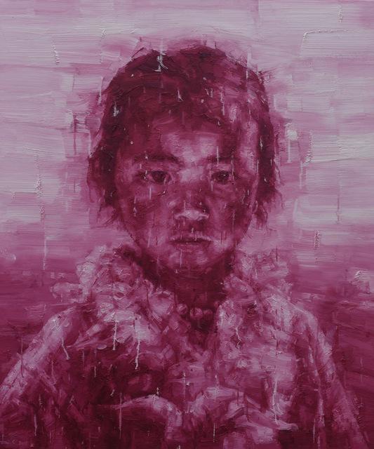Adam Chang, 'Tibetan Girl in red', 2017, Tanya Baxter Contemporary