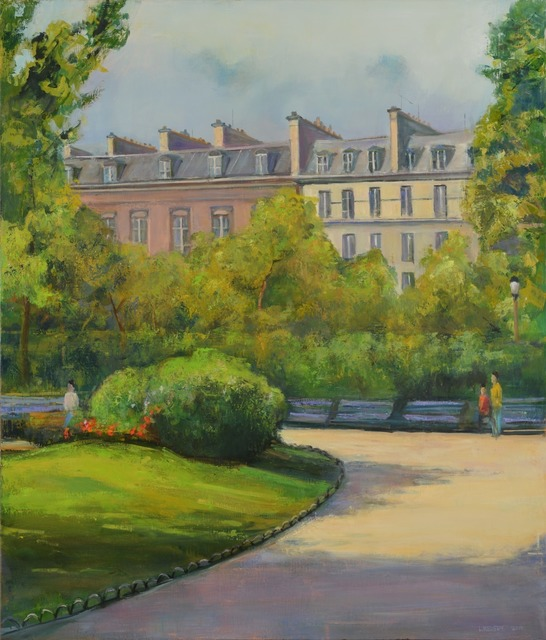 , 'Paris Park,' 2014, Madelyn Jordon Fine Art