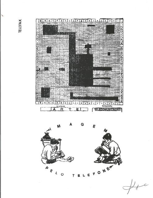 , 'Telefax,' 1988, Marsiaj Tempo