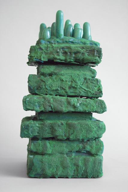 , 'Moss Tower,' 2018, Linda Warren Projects