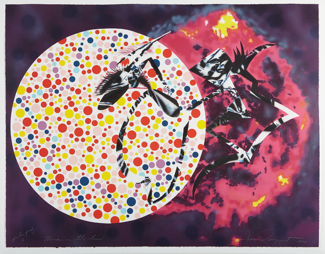James Rosenquist, 'Woman in the Sun', 1991, Phillips
