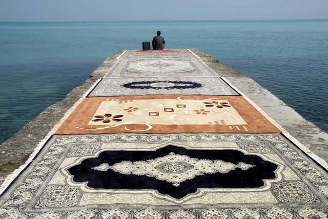 , 'Water and Persian Rugs series,' 2004, Isabelle Gounod