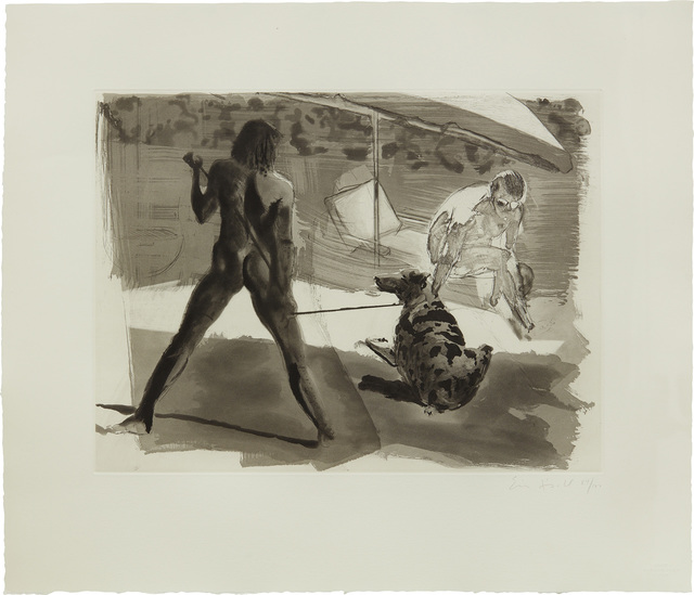 Eric Fischl, 'Beach, from Beach and Shower', 1987, Phillips