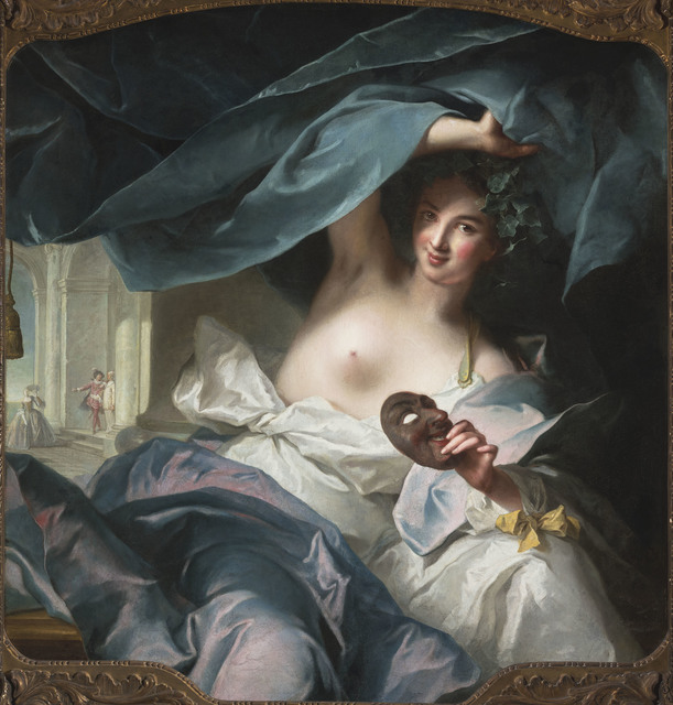 , 'Thalia, Muse of Comedy,' 1739, Legion of Honor
