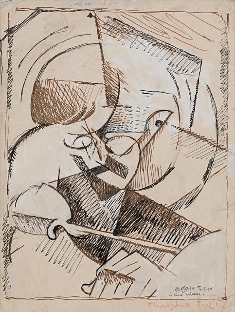 Albert Gleizes, 'Portrait de Florent Schmitt', 1915, Rosenberg & Co.