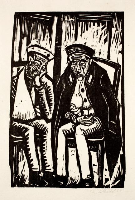 , 'Zwei Verwundete,' 1914, Henze & Ketterer