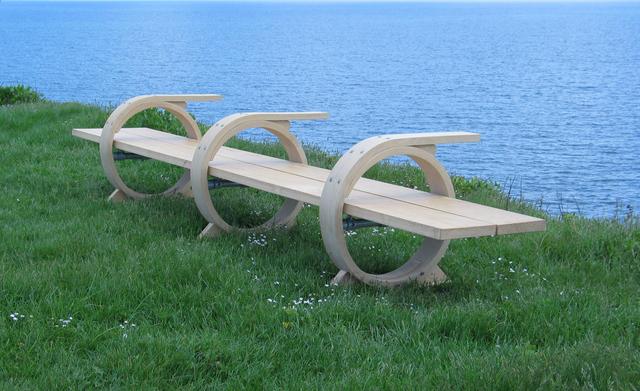 , 'Three Ring Bench,' 2005, Sladers Yard