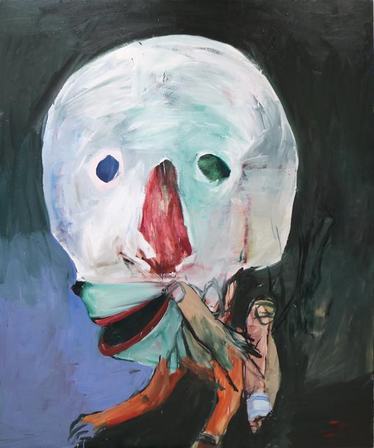 , 'Nariz vermelho [Red nose],' 2016, Casa Triângulo