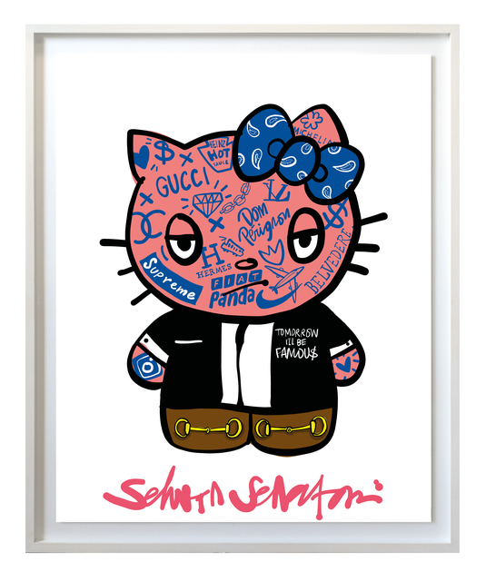 , 'Tomorrow I'll be famous - Hello Kitty,' 2017, Amstel Gallery