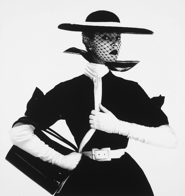 , 'Black and White Fashion (with handbag) (Jean Patchett), New York  ,' 1950, Atlas Gallery