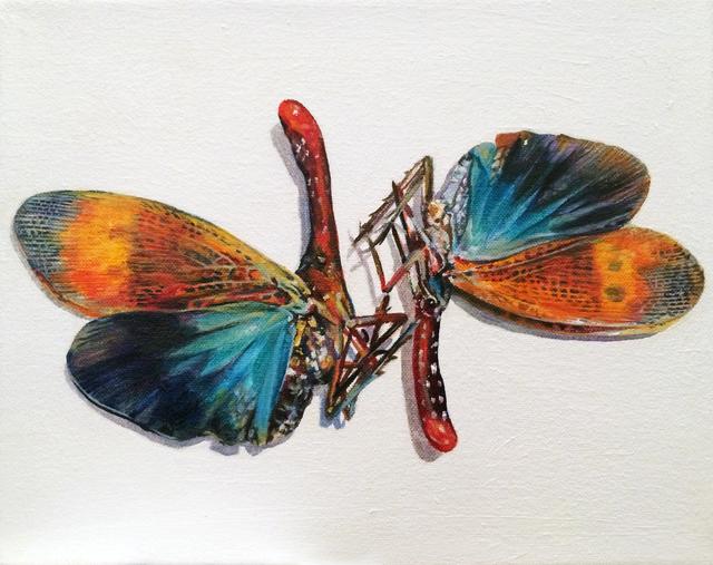 , 'Pair of Moths,' 2016, BoxHeart