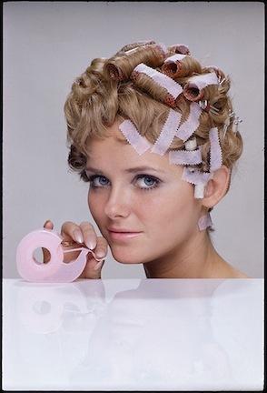 William Helburn, 'Cheryl Tiegs, Hair Tape, 3M', 1968, Staley-Wise Gallery