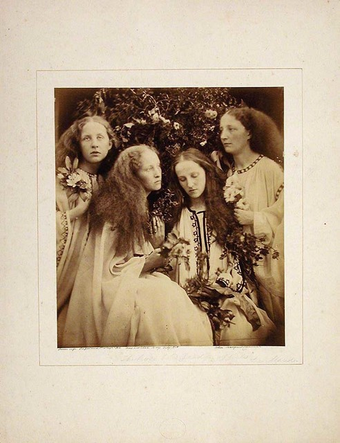 Julia Margaret Cameron, 'The Rosebud Garden of Girls', 1868, Indianapolis Museum of Art at Newfields