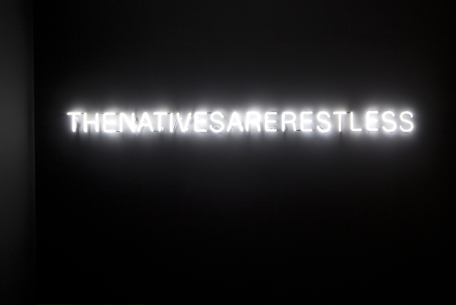 , 'The Natives Are Restless,' 2012, Roslyn Oxley9 Gallery