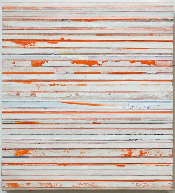 , 'White & Orange,' 2016, Garvey | Simon