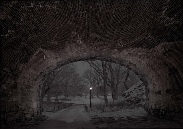 , 'Eaglevale Arch Looking North- Deep In A Dream - Central Park,' 2017, Holden Luntz Gallery