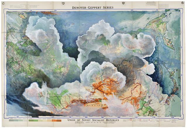 , 'USSR: Denoyer Geppert, 1954,' 2015, Art Bastion Gallery