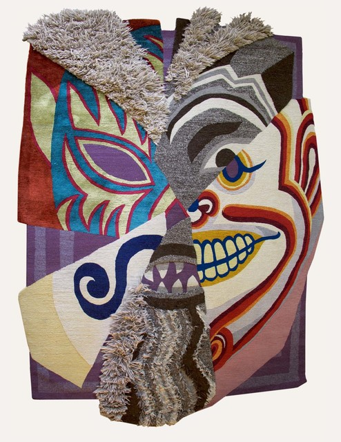 , 'World Mask,' 2014, MANIERA