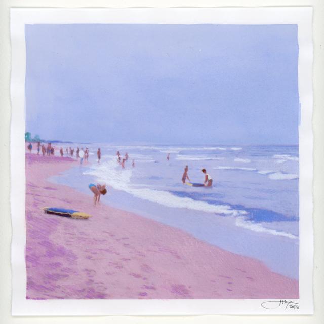 Isca Greenfield-Sanders, 'No Name (Beach)', 2018, Berggruen Gallery