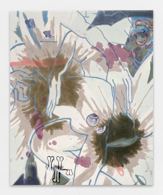 Chris Hood, 'Untitled', 2017, Painting, Oil on canvas, Galerie Ceysson & Bénétière