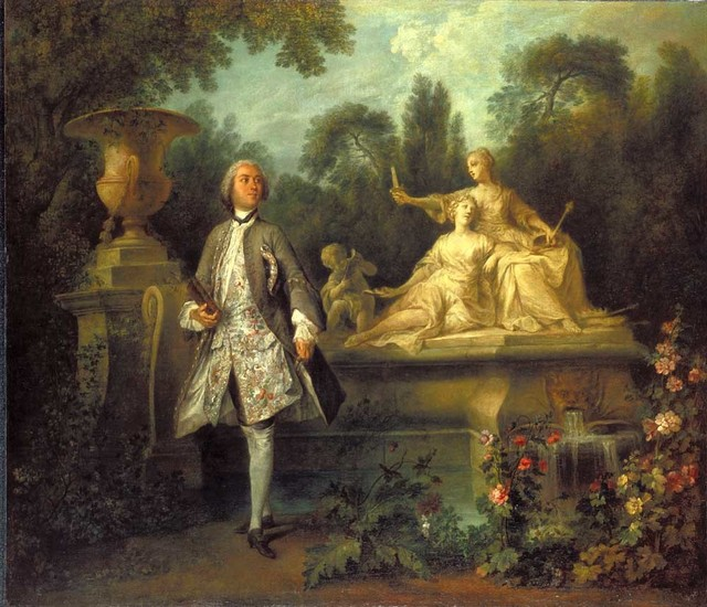 Nicolas Lancret, 'Portrait of the Actor Grandval', ca. 1742, Indianapolis Museum of Art at Newfields