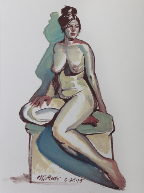 , 'Untitled (Jodi Seated Twist),' 2015, Ro2 Art
