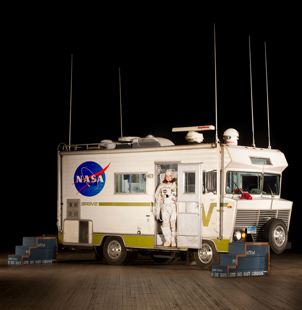 , 'Mobile Quarantine Facility (MQF),' 2011-2012, Tom Sachs Studio