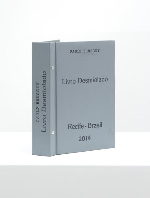 , 'Livro desmiolado,' 2014, Galeria Nara Roesler