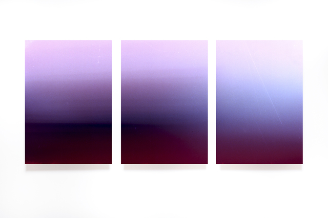 ", 'Untitled (triptych), from the series ""Light Surface"",' 2017, Artig Gallery"