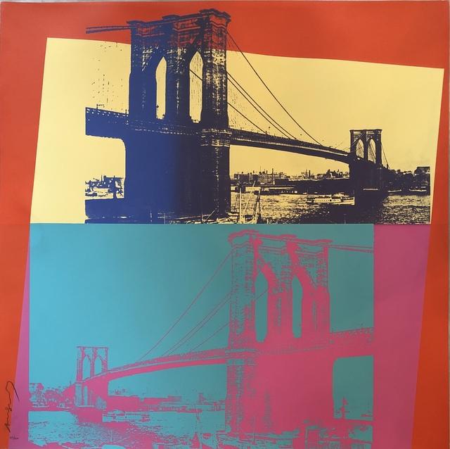 Andy Warhol, 'Brooklyn Bridge F&S II.290', 1983, Fine Art Mia