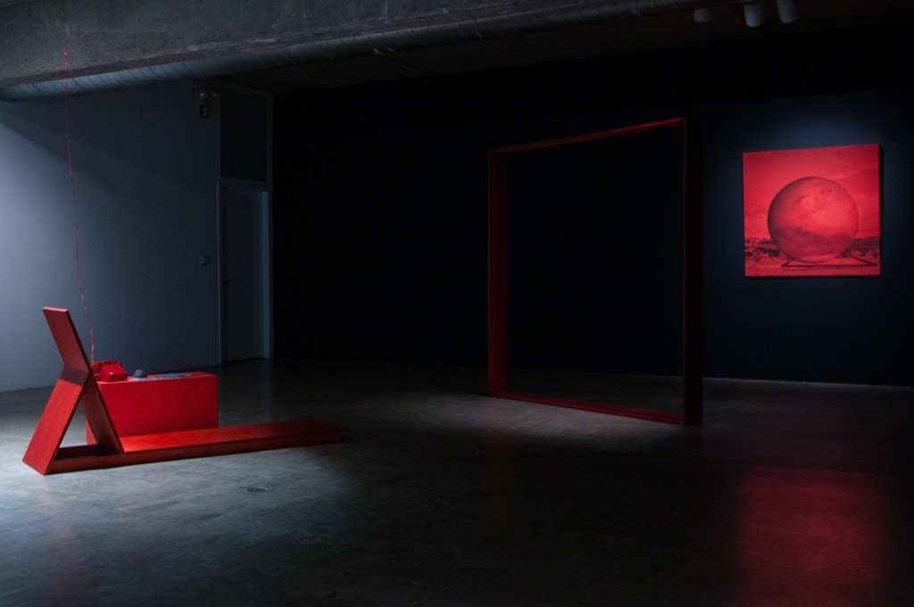 MPA, The Interview, 2015. THE INTERVIEW: Red, Red Future, Contemporary Arts Museum Houston, Houston, TX, 2016. Courtesy the artist and Contemporary Arts Museum Houston. Photo: Max Fields.