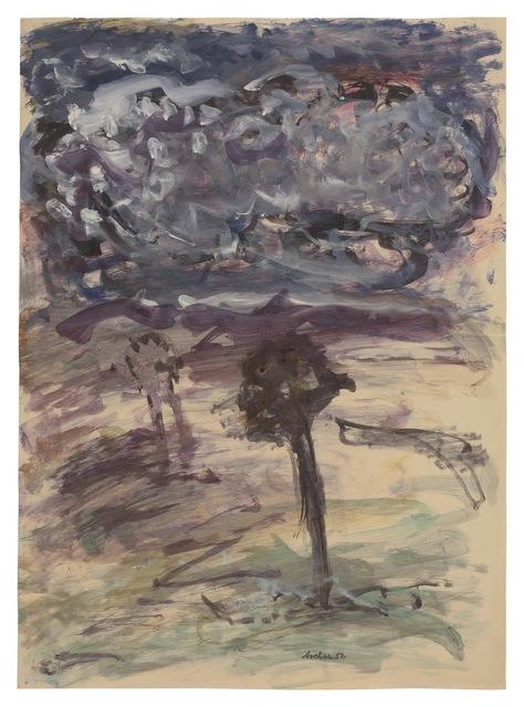 , 'Two Trees,' 1952, New York Studio School