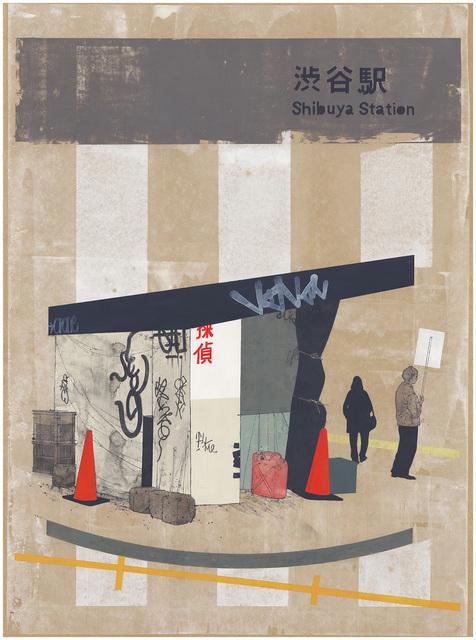 , 'Shibuya Newsstand,' 2015, Joshua Liner Gallery