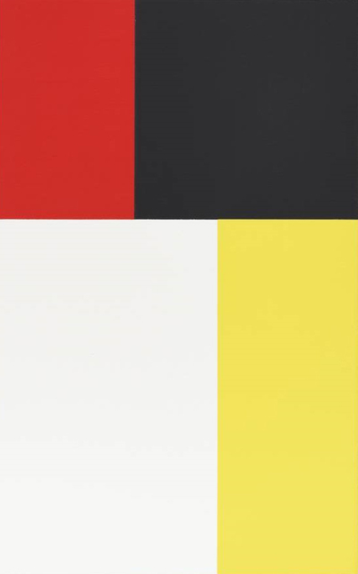 , 'Phi Painting (Yellow Red),' 2015, Walter Storms Galerie