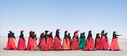 , 'Herero Women Marching,' 2012, KLOMPCHING GALLERY