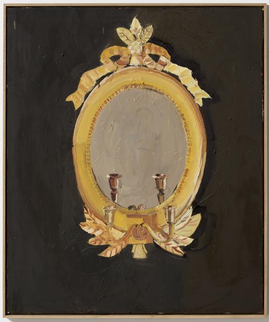 , 'Gold Mirror,' 2011, Galleri Bo Bjerggaard