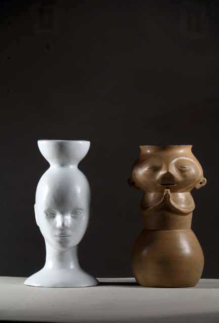 , 'Untitled (Urn and Mannequin),' 2015, Nora Fisch